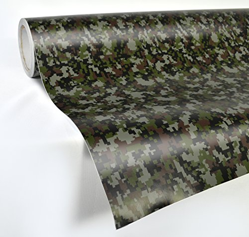VViViD Digital Camouflage Vinyl Wrap Film for DIY No Mess Easy to Install Air-Release Adhesive (1ft x 5ft)