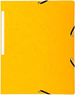 Exacompta 55419E Folder Manila Card 355 g Nature Future Din A4 Yellow, Pack of 10