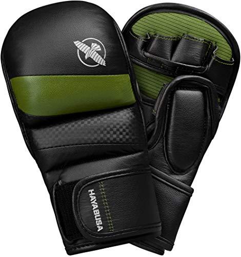 Hayabusa Guanto Hybrid T3 MMA Verde, Large
