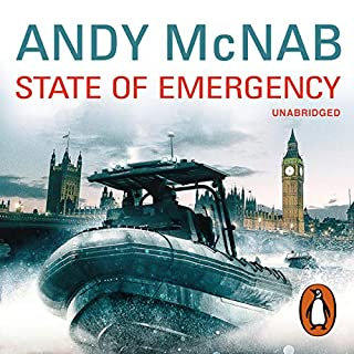 State of Emergency                   By:                                                                                                                                 Andy McNab                               Narrated by:                                                                                                                                 Colin Buchanan                      Length: 9 hrs and 33 mins     206 ratings     Overall 4.3