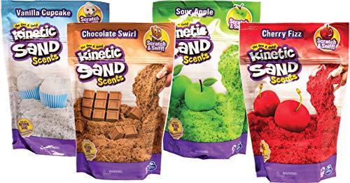 Kinetic Sand Fragancias, para niños a Partir de 3 años, 226 g, Varios Modelos