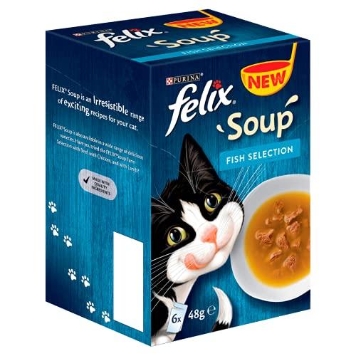 Felix Soup Cat Food Fish Selecti...