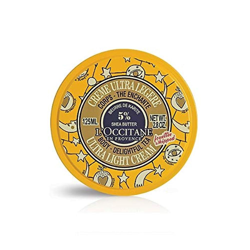 出撃者あたたかい保存するロクシタン(L'OCCITANE) ジョイフルスター スノーシア ボディクリーム(ディライトフルティー) 125ml