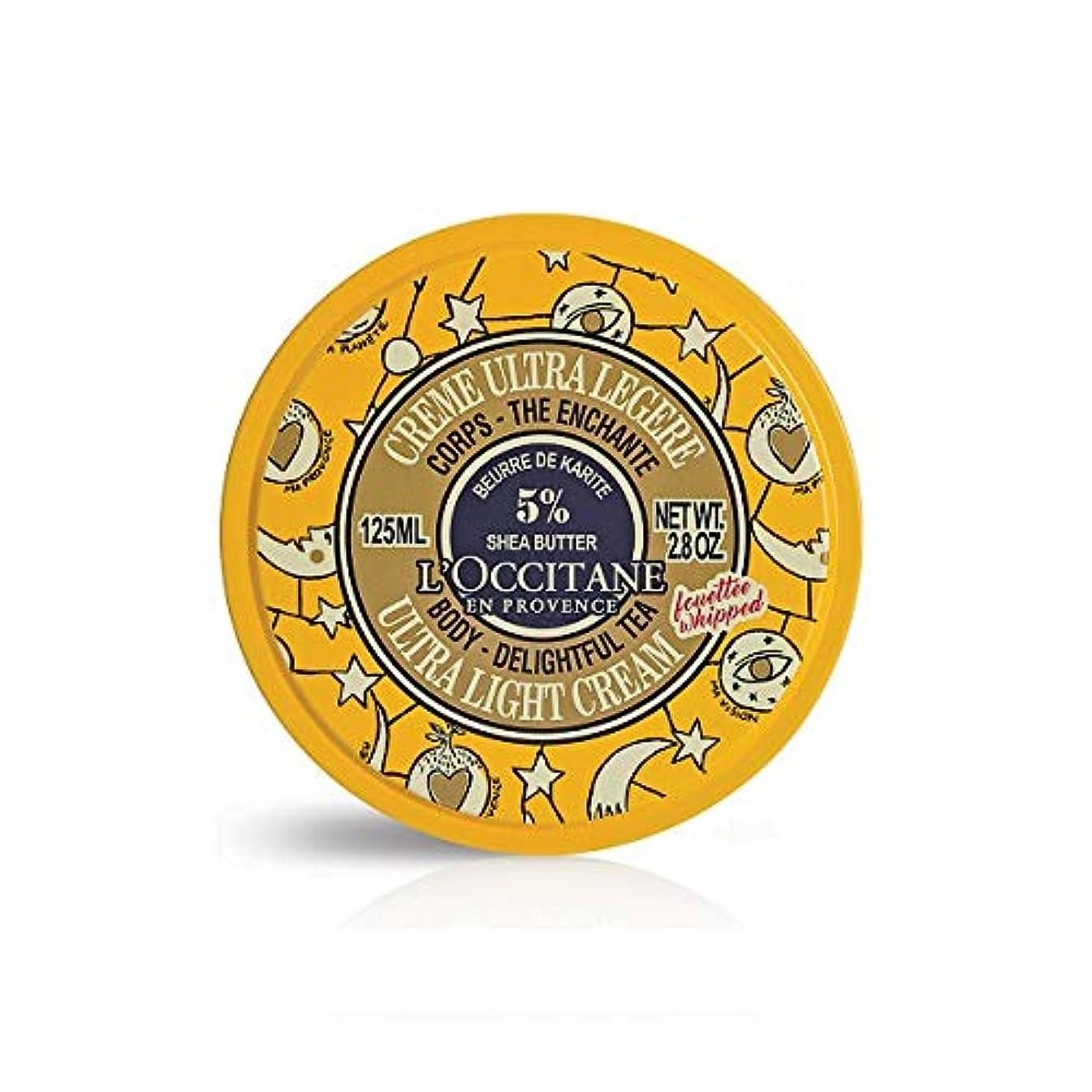 かなり気分ラダロクシタン(L'OCCITANE) ジョイフルスター スノーシア ボディクリーム(ディライトフルティー) 125ml