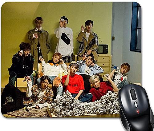 Younini - Tappetino per mouse K-Pop Pentagon Shine versione 25,5 x 30,5 cm