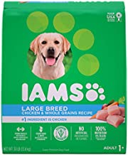 IAMS PROACTIVE HEALTH Adult High Protein Large Breed Dry Dog Food with Real Chicken, 30 lb. Bag