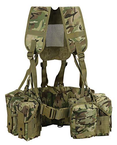Highlander Recon Pack Ejército Militar Senderismo Mochila Cadete 20L HMTC Camo