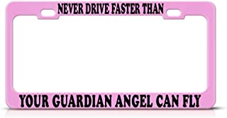 Light year GT Novelty Metal Custom License Plate Frame - Car Front Decoration -12×6inch