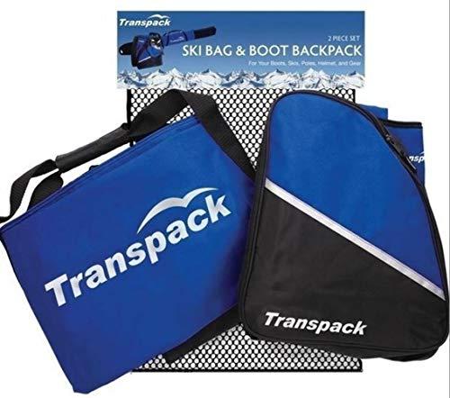 Transpack Alpine Jr. Kids Combo Ski Bag with Boot and Gear Bag