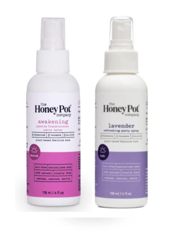 The Honey Pot Company Panty Ranking TOP20 Spray 4 Laven Of Nashville-Davidson Mall Pack Oz Includes 2