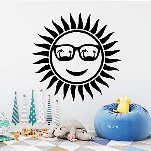hetingyue Sunny Fashion Zelfklevende muursticker, waterdicht, vinyl, sticker, muurkunst, muursticker