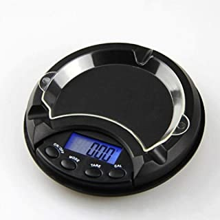 Precision Pocket Scale Ashtray Pocket Scales 500g x 0.1g