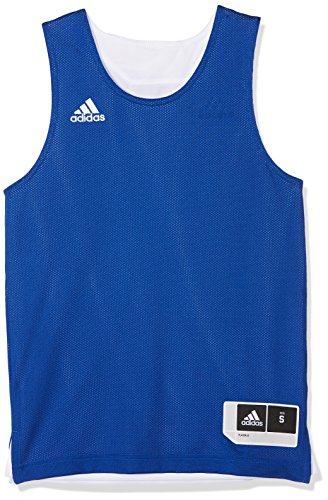adidas Kinder Reversible Crazy Explosive Trikot, Collegiate Royal/White, 152