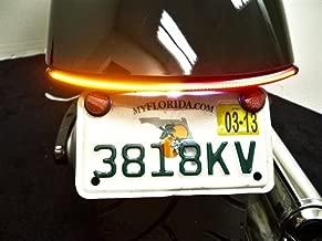 LED Fender Eliminator Integrated Running Light, Brake Light, and Turn Signal Kit with Tag Light and Bracket for Honda Fury (Smoked Lens)