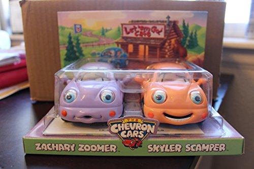 The Chevron Cars Zachary Zoomer & Skyler Scamper
