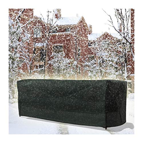 YJFENG Lona para Muebles De Jardín Asiento Rectangular Cubierta A Prueba De Polvo, Impermeable A Prueba De Viento Paño Oxford 600x300D, con Bolsa De Almacenamiento