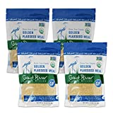 Great River Organic Milling, Specialty Flour, Golden Flaxseed Meal, Organic, 32 Ounces (Pack of 4)