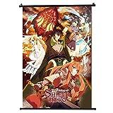 The rising of the shield Hero Japan Anime Póster de desplazamiento Tamaño 30 x 45 cm (12 x 18 in)