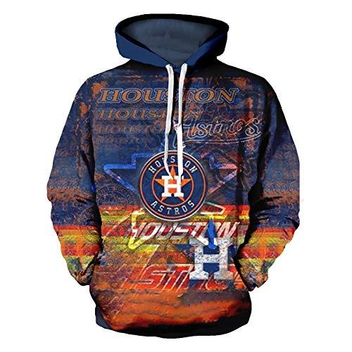 HOSD Digital con Gran Hombre, para Estampado de tamaño Suéter Serie con Capucha, suéter Deportiva Ocio de y