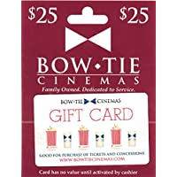 Deals on $25 Bow Tie Cinemas Gift Card Email Delivery