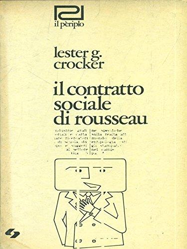 Il contratto sociale di rousseau