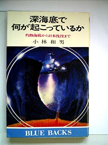 深海底で何が起こっているか―灼熱海底から日本沈没まで (1980年) (ブルーバックス)の詳細を見る