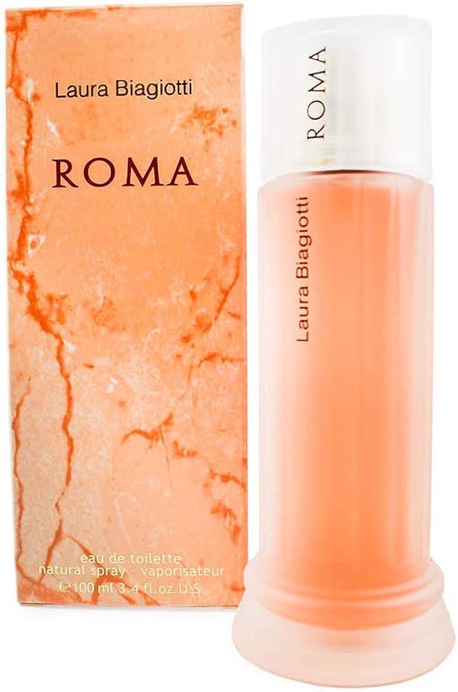 Laura biagiotti, roma, eau de toilette per donna, vapo, 100 ml 12073