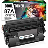 Cool Toner Compatible Toner Cartridge Replacement for HP 87A CF287A HP 87X CF287X for HP Laserjet Enterprise M506 M501dn M506dn M506N M506X MFP M527dn M527c M527z Printer Ink (Black, 1-Pack)
