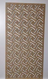 LaserKris - Rejilla de Pared para radiador (4 x 2)
