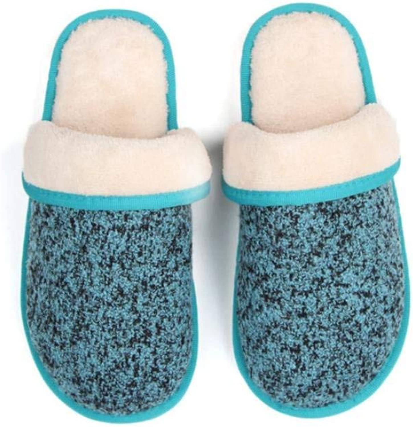 JaHGDU Women Home Slippers Leisure Soft Interior Keep Warm in Winter and Autumn Stylish Classic Household Super Soft Plush Slippers
