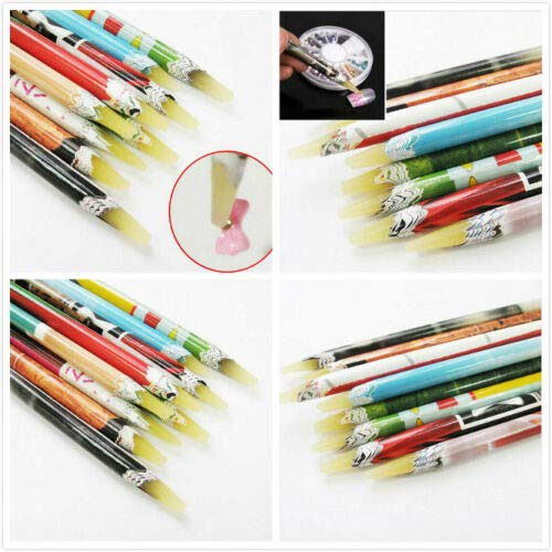 Strass Hars Wax Pen Potlood Nagel Art Gem Diamant Diamante Crystal Pick Up Ambachten Decoratie Kaart maken DIY