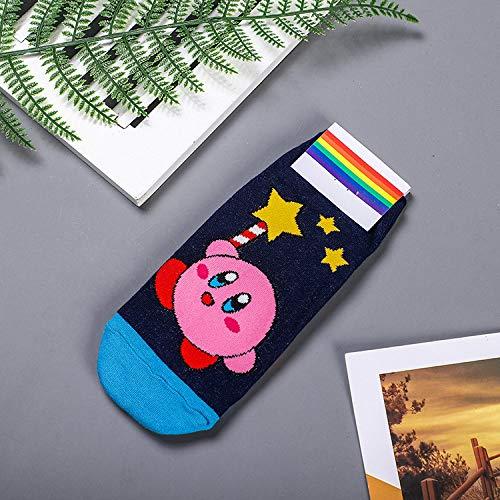 Damen Socken,1 Paar Winter Herbst Anime Mein Nachbar Totoro Socken Kein Gesicht Cat Lustig Fashion Cute Cartoon Frauen Socke Frühling Herbst Komfort Glücklich Koreanischen Baumwolle Socken,Farbe 2