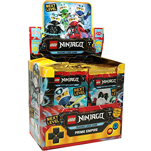 Blue Ocean Lego® Ninjago™ Serie 5 Next Level - Display mit 50 Tüten Trading Cards