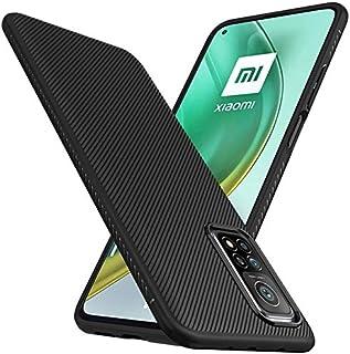 Toppix 対応: Xiaomi MI 10T / MI 10T Pro ケース, 保護カバーTPU, 保護バンパー 弾力性付き [特化した] 耐衝撃 Xiaomi MI 10T / MI 10T Pro用 カバー (ブラック)