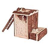 Trixie 62001 Natural Living Spiel- und Buddelturm, 20 × 20 × 16 cm