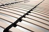 i-flair® Lattenrost 160x200 cm, Lattenrahmen für alle Matratzen geeignet - alle Größen - 6