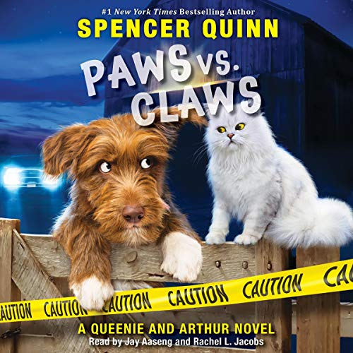 Paws vs. Claws audiobook cover art
