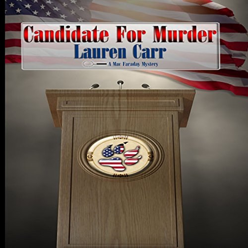 Candidate for Murder audiobook cover art