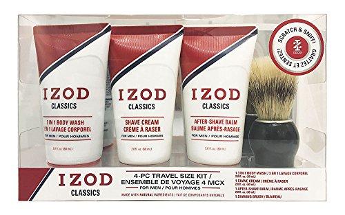 IZOD Travel Kit, Classics, 4 Piece
