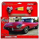 Airfix - Kit Mediano con Pinturas, Coche Jaguar E Type (Hornby A55200)
