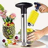 Decoupe Ananas, Tranche Ananas Couteau d'ananas en Acier Inoxydable [Amélioré, renforcé, Lame Plus épaisse], Corer pour la Maison et la Cuisine (1pcs)