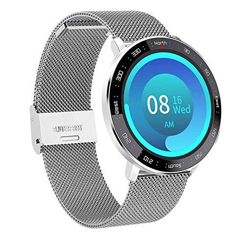 Impermeable IP67 Smart Watch,Pulsera Fitness Pantalla Grande de Alta Definición 1.3 Pulgadas,9 Modos Deportivos,Compatible con Android iOS