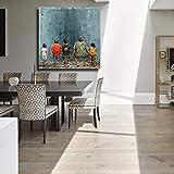 N / A Pintura sin Marco El Arte de los Frescos es absurdo y Hace Que Las Personas regresen a la decoración del hogar de Pinturas al óleo y murales sobre Lienzo ZGQ6594 60X60cm