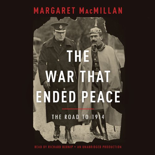 The War That Ended Peace audiobook cover art