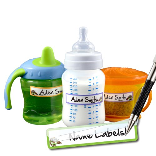 Baby Bottle Waterproof Labels - Great for Daycare
