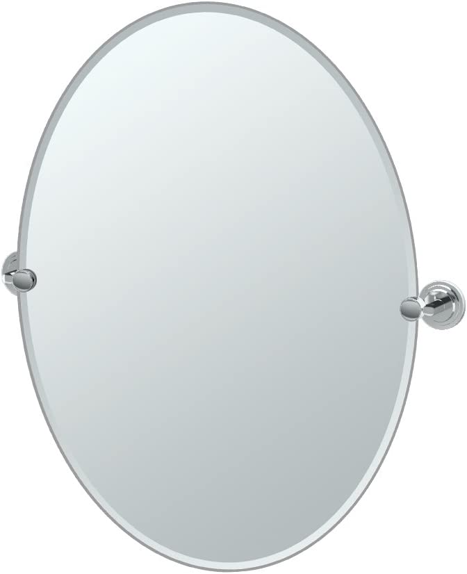Gatco 5239LG Marina Large Oval Wall Directly managed store Ranking TOP14 Mirror Chrome