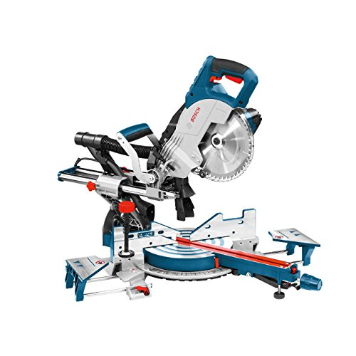 Bosch 0601B19170 GCM8SJL Single Bevel Sliding Mitre Saw, 240V, 216mm Ø, Multicolor