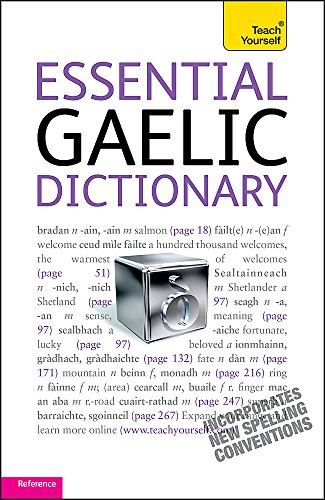 Robertson, B: Essential Gaelic Dictionary: Teach Yourself