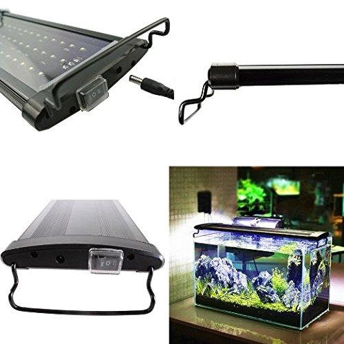 Etime LED Aufsetzleuchte IP67 Aquarium Aquariumlampe Beleuchtung für 120-140cm Aquarium (120-140cm) - 2