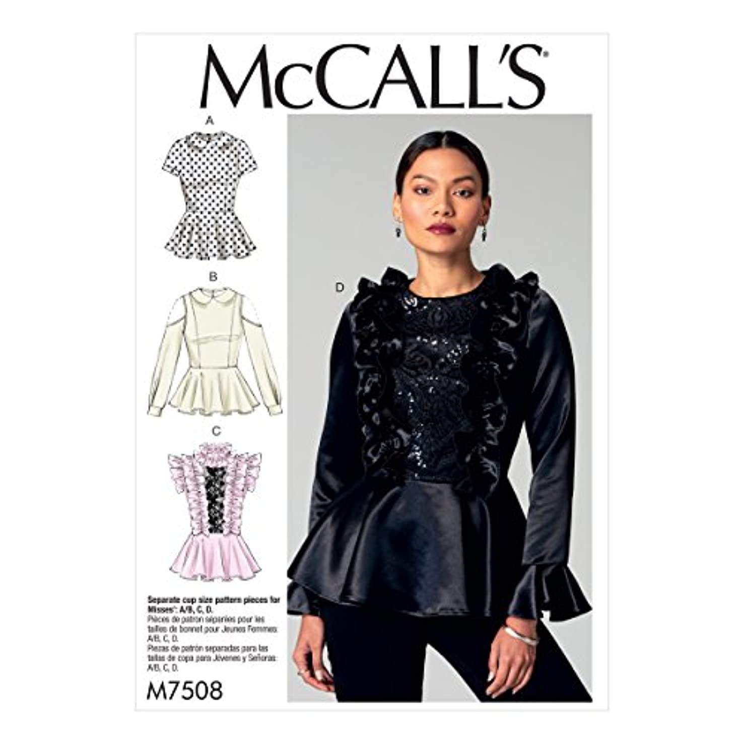 MISSES UNLINED JACKET, TANK DRESS OR TOP, SKIRT & PANTS OR SHORTS SIZE 8-10 MCCALLS MADE FOR YOU - SELECT A SIZE PATTERN 5861